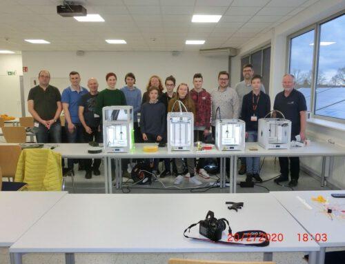 Höltyaner sammeln neue Erkenntnisse im 3D-Druck-Workshop bei Baker Hughes