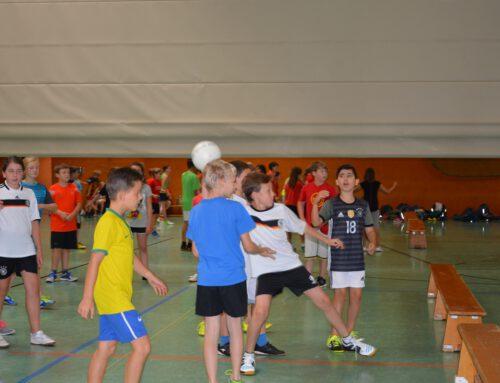 Sportfest für die 6. Klassen
