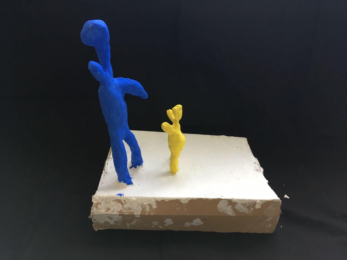 Abstrahierungen in plastischen  Arbeiten