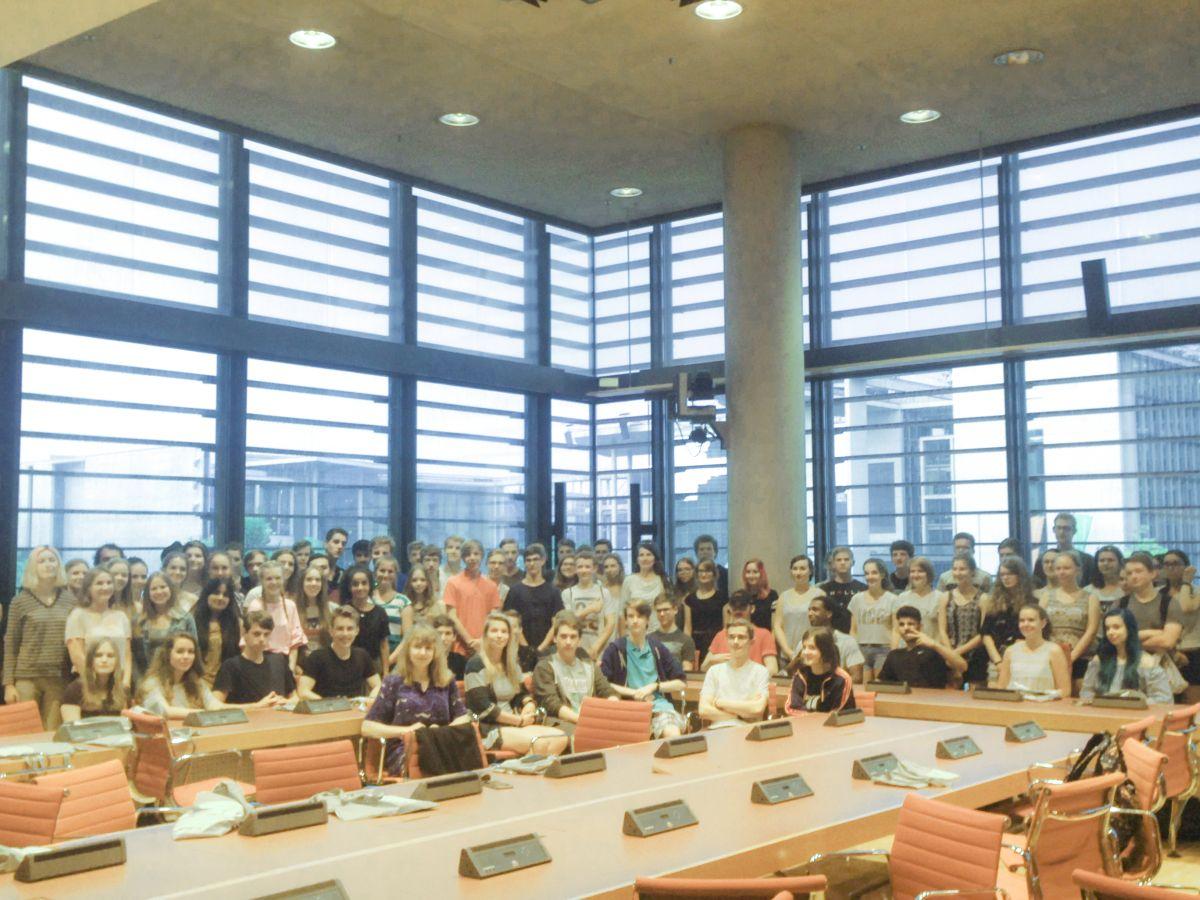 10. Klassen auf Exkursion in Berlin