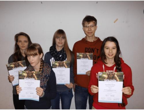 Hölty-Schüler bei Biologie-Olympiade erfolgreich