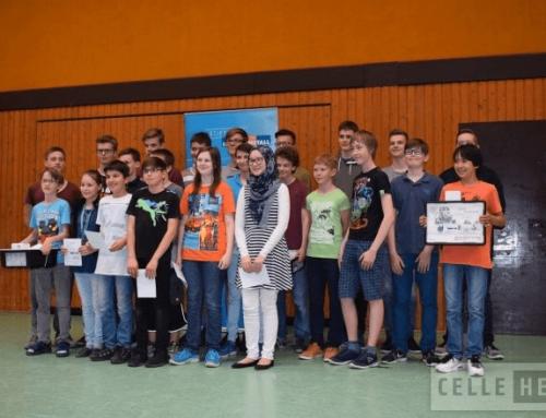 Schüler bauen Roboter: 33 Teams lieferten sich ehrgeizigen Wettstreit (CelleHeute am 24.05.2017)
