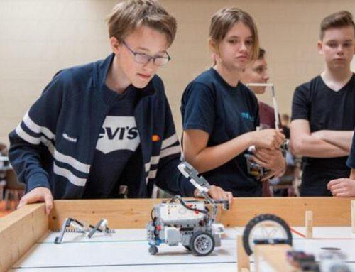 Roboter übernehmen die Hölty-Sporthalle (Cellesche Zeitung am 16.06.2019)