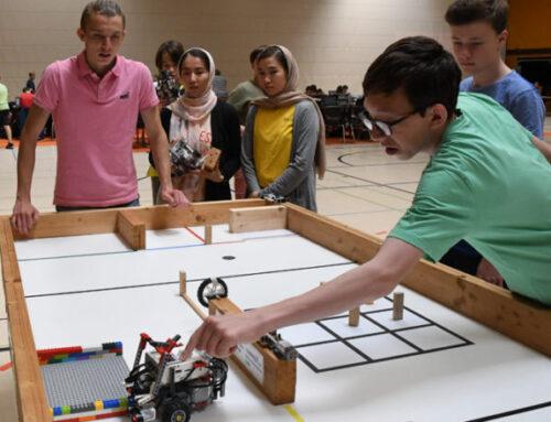 """""""Celle Mindstorms Challenge"""" – 26 Schüler-Teams stellen ihre Programmierkünste unter Beweis (CelleHeute am 13.06.2019)"""