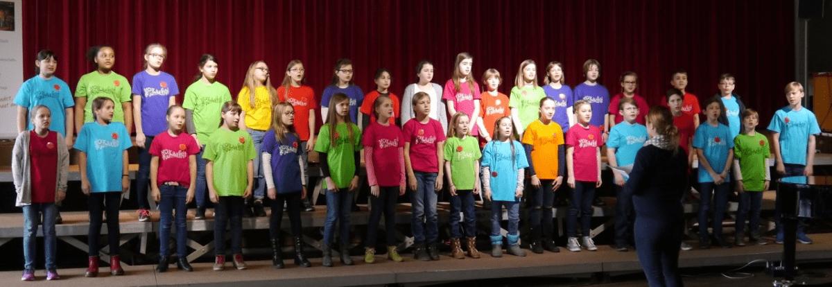 Hölty-Chöre bei den 15. Celler Kinder- und Jugendchortagen