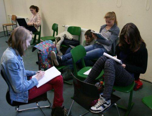 """Höltyaner begeistern beim """"Poetry Slam""""-Workshop"""