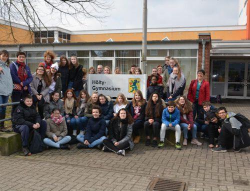 Austauschschüler aus Frankreich zu Gast am Hölty