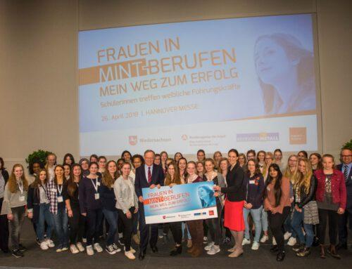 Frauen in MINT-Berufen – Schülerinnen treffen weibliche Führungskräfte