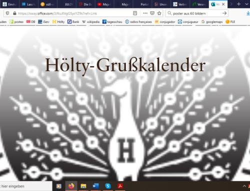 Hölty-Grußkalender