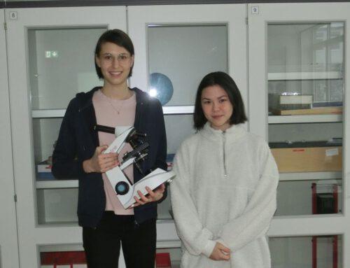 Hölty-Schülerinnen gewinnen den Deutschen Preis für junge Erfinderinnen und Erfinder beim bundesweiten Erfinderwettbewerb invent@school