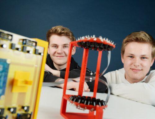 Hölty-Schüler erobern vierten Platz beim Bundesfinale von Jugend forscht in Chemnitz