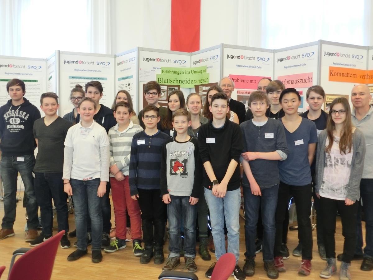 Einzigartige Leistungen unserer Höltyaner beim Jugend-forscht Regionalwettbewerb 2017