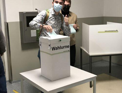 Juniorwahl am Hölty-Gymnasium: Dreikampf um das Kanzleramt