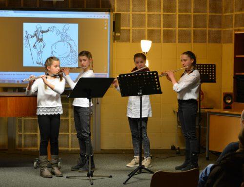 Sanfte Klänge treffen auf andächtige Stille – Kammermusik am Hölty-Gymnasium