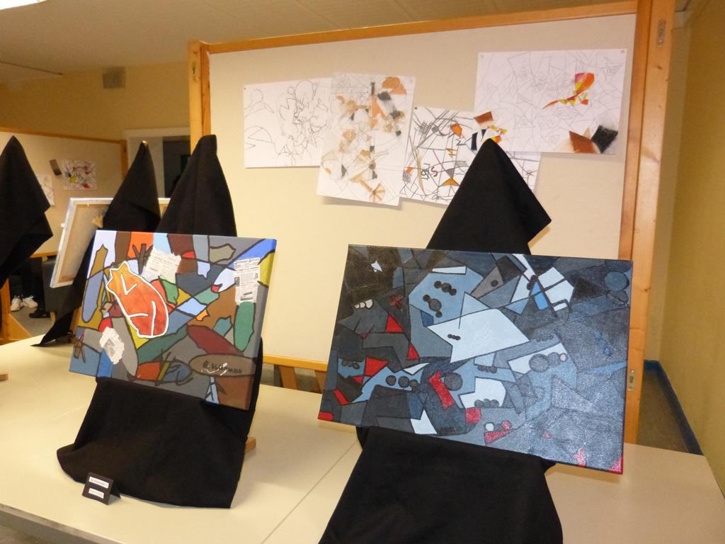 Kunstvernissage – Cubismo interpretado nueva