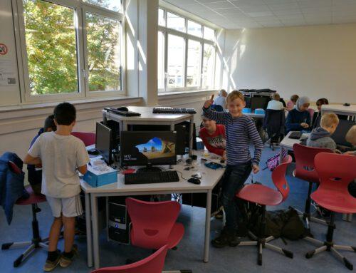 Wir sagen Danke! Hölty-Schulverein unterstützt Robotik-Nachwuchs