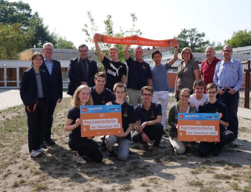 """Hölty-Gymnasium erneut """"Partnerschule der IdeenExpo"""" (auch Cellesche Zeitung am 07.09.2018)"""