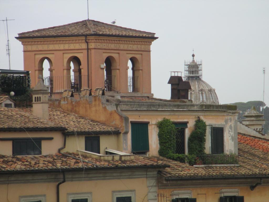 Dachgarten am Forum Romanum