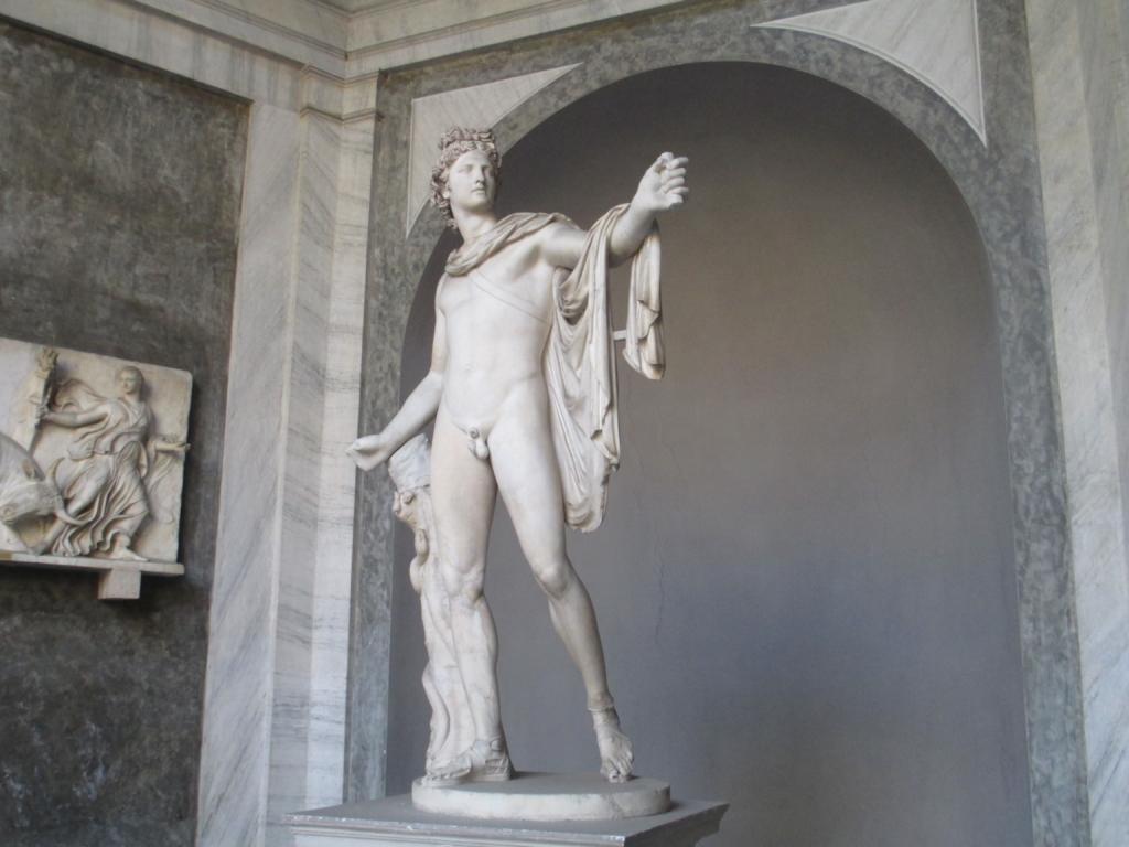 Vatikanische Museen, Antikensammlung: Der Apoll von Belvedere