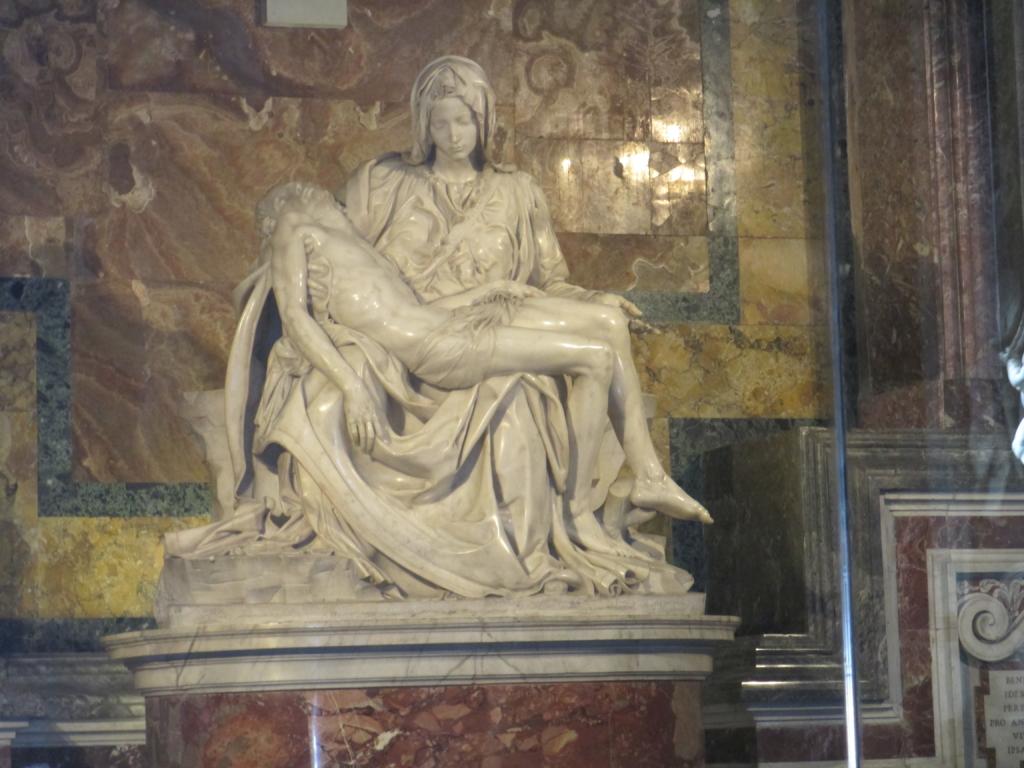 Petersdom: Die Pietà Michelangelos