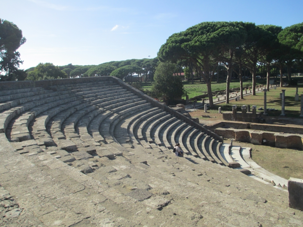 Das Theater in Ostia Antica