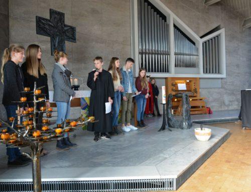 Reformationsgottesdienst des Hölty-Gymnasiums in der Pauluskirche