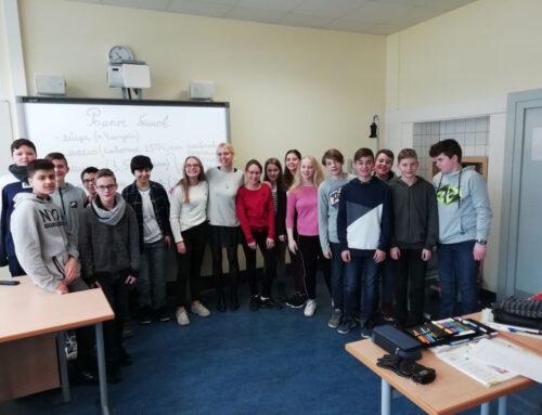 Bericht der Fremdsprachenassistentin Anastasia Galkina