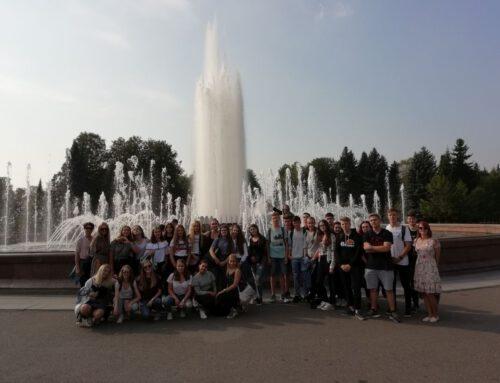 Austausch zwischen dem Hölty-Gymnasium Celle und der Schule 88 in Sankt Petersburg