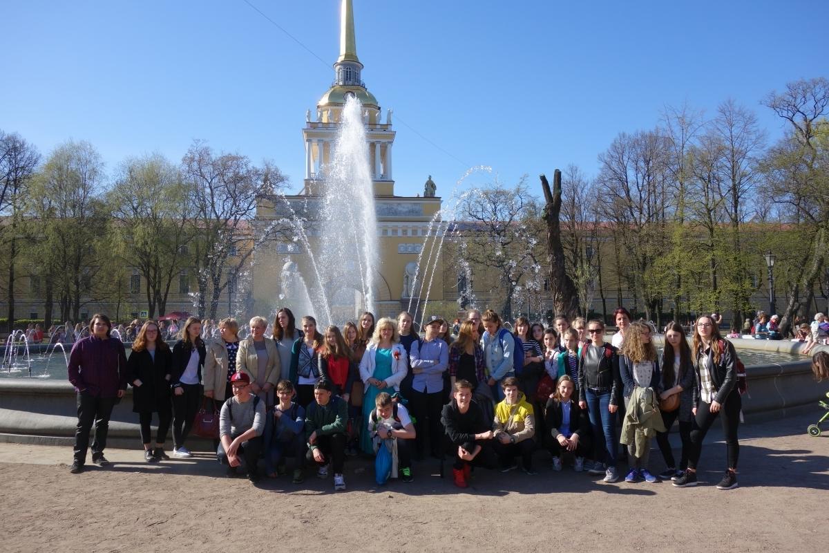 Austauschfahrt nach Sankt Petersburg