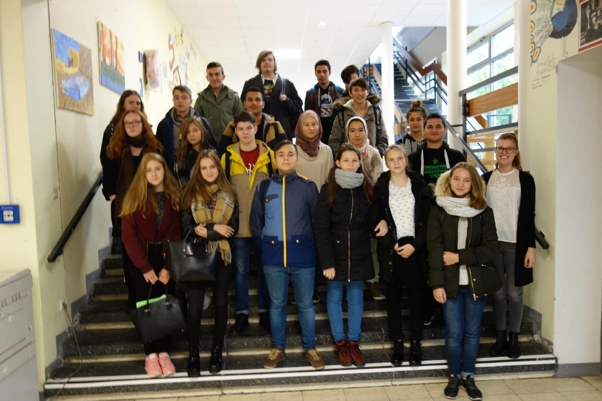 Unser Besuch am Hölty – Eine russische Austauschschülerin berichtet