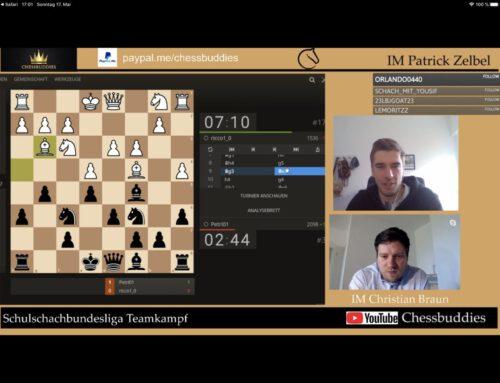 6. Platz bei Schachliga-Premiere