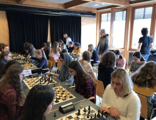 Dritter Platz der Mädchenmannschaft bei der Niedersächsischen Schulschachmeisterschaft