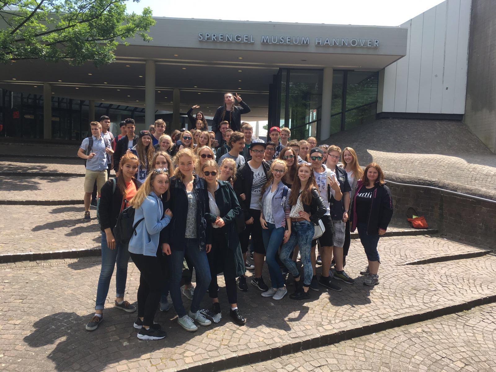 Exkursion in das Sprengel-Museum in Hannvover