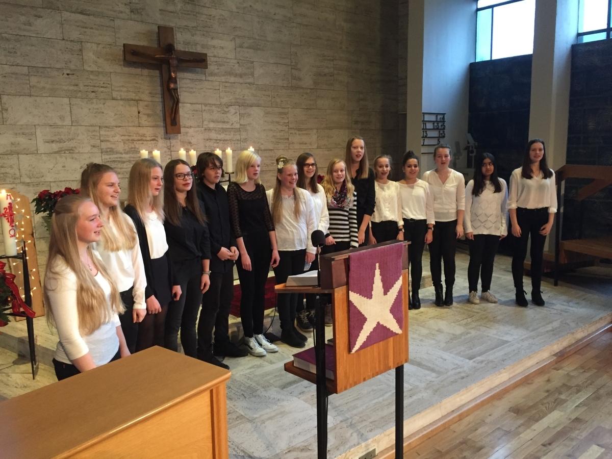 Young Voices singen in Lobetal